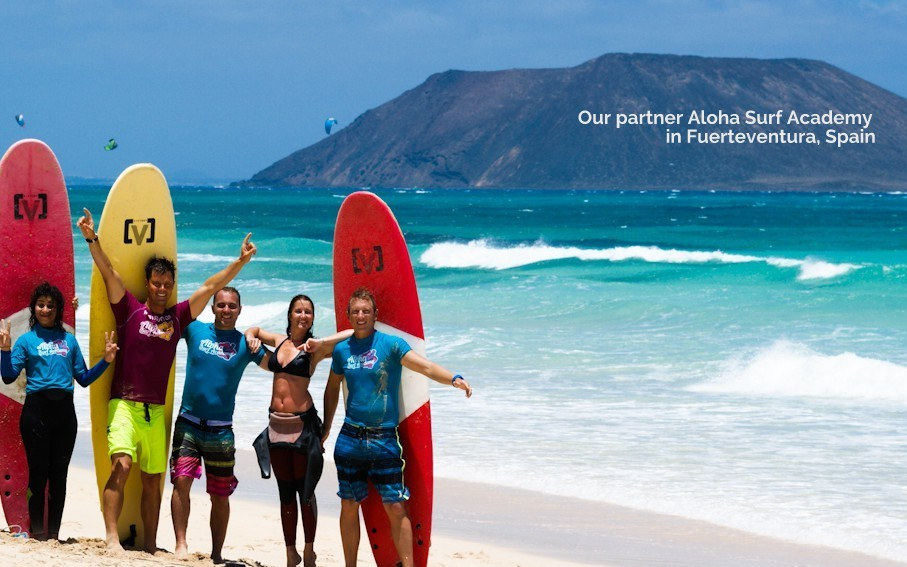 Aloha Surf Academy in Spain