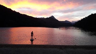 Paddle en Patagonie